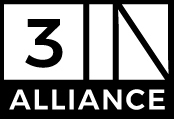 3IN ALLIANCE logo black small